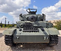 Captured Syrian Panzer IV Tank from 1967 Six Day War by Mosh70, via Flickr