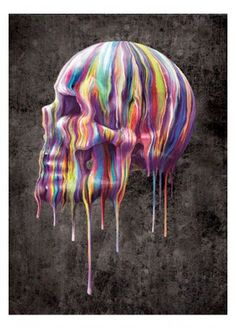 Nemesis Now Dripping Skull 3D Wall Picture, £4.99