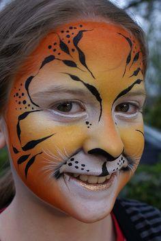 Tiger by Jennifer Parker @ Kaleidoscope Face Painting