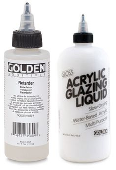 golden acrylic retarder and glazing liquid