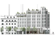 Gallery of COBE Designs Housing and Culinary Experiences to be Built on Top of Copenhagen Metro Station - 4