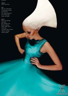 NEXT COMPANY MODELS BLOG: Tereza B for 74 - THE HAIR BIBLE Issue 3 Spring 2012 by Alex Schier  #photography #fashion #hair
