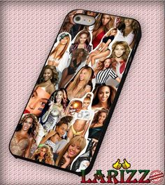 "Beyonce Collage for iPhone 4/4s, iPhone 5/5S/5C/6/6 , Samsung S3/S4/S5, Samsung Note 3/4 Case ""007"""