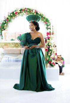 Zulu Traditional Wedding Dresses, Tsonga Traditional Dresses, South African Traditional Dresses, Wedding Dresses South Africa, African Wedding Attire, African Attire, Latest African Fashion Dresses, African Dress, Marie