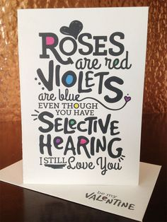 fun valentine's day card messages