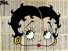 "Saatchi Art Artist Loui Jover; Drawing, ""betty"" #art"