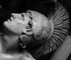 """Achilles chose """"Kleos aphthiton"""" before being damned to eternal obscurity...   Albacini- Dying Achilles [details] - Ίστωρ Macedonian (@istorMacedonian) on Twitter"""