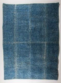 Antique Indigo coloured Blanket  from Norhern by SOrugsandtextiles