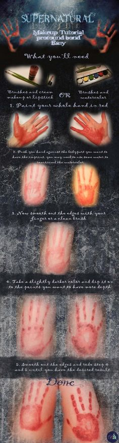 I got a request to do a tutorial for my toxic touch pictur like the profound bond thing in supernatural...  so here it is. This is the easy way to do it, I maybe do a tutorial for the more com...