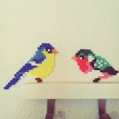 Birds hama perler beads by camilladrejer