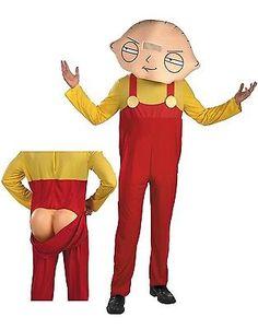 family guy stewie teen boys halloween costume teen38 40 by disguise - Fun Teenage Halloween Costumes