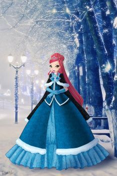 CG: Winter by on DeviantArt Daphne Winx, Les Winx, Barbie Costume, Winter Princess, Elf Art, Bloom Winx Club, Famous Pictures, Fairy Pictures, Anime Demon