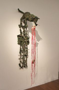 Review of the Fiona Hall exhibition at: http://www.naimamorelli.com/war-bad-animals-dying-war-bad-fiona-hall-heide-museum/