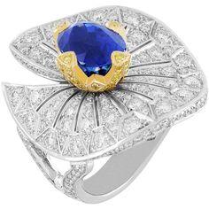 "Van Cleef Arpels Nefertem ring from the ""Palais de la Chance"" collection"