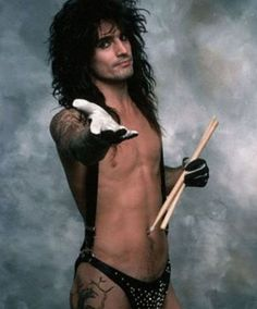 Pinning this on for @Wendi Overmyer motley crue, tommy lee, music, 1980s, 80s