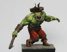 Black Sailors- Pirates, Orcs, Fantasy Miniatures! by Legion of the Cow LTD — Kickstarter