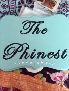 """""""The phinest"""" Phi Mu quatrefoil"""