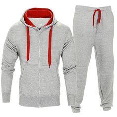 4d89753b5bcb Men Stretchy Trousers Hooded Coat Jacket Pants Jogging Sports Tracksuit Set.  NohaviceNohavicePánske ...