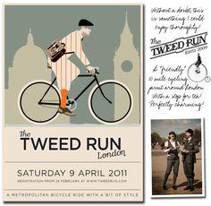 Tweed Run promo