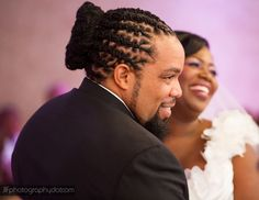 Caribbean Wedding in New York with Purple and Green: Valerie + Tadj