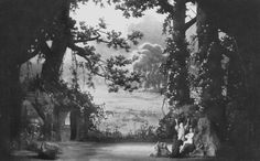 """ Parsifal "" 3.Aufzug 1.Bild 1930 nach M.Brückner"