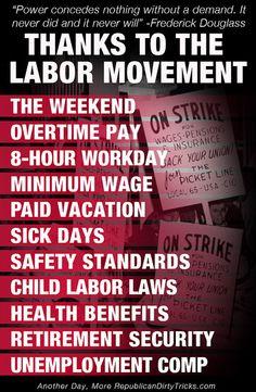 Labor Movement Accomplishments