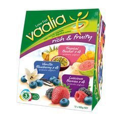 Vaalia Probiotic Yoghurt | Vaalia Low Fat Yoghurt