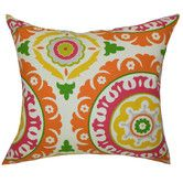 Found it at Wayfair - The Pillow Collection Hasufel Geometric Pillow