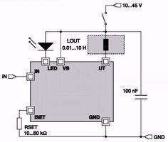 iC-JE, energiezuinige relaisdriver. De iC-JE van iC-Haus stuurt eerst een grote inschakelstroom naar de relaisspoel, na 100 ms   daalt de stroom tot de houdstroom. Deze stroom is gelijk aan 2/3 van de inschakelstroom. Op deze manier kunt u heel wat voedingsvermogen uitsparen.