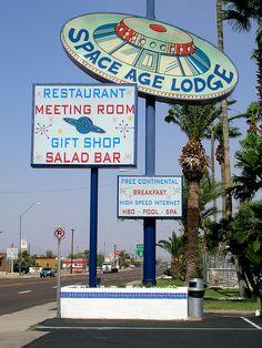 Space Age Lodge...........Gila Bend, Arizona.