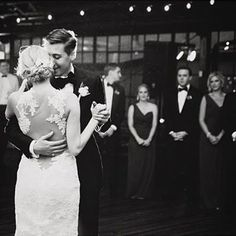 "First dance in ""Nicole"" | #regram #AmsaleBride @allisonaycock"