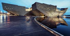 Kengo Kuma's Scotland's cliff-inspired V&A Dundee Museum is nearing completion