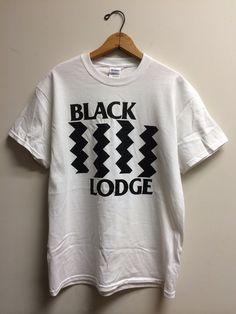 a3908c9a3f Black Lodge : TP / BF. Dozen DonutsTwin PeaksPost PunkBlack PrintCotton Tee JumpersTee ShirtChristmas ...