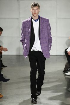 Raf Simons unveiled his Fall/Winter 2017 collection during New York Fashion Week Men's.