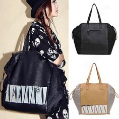 Discount China china wholesale Europe Style Womens Casual Large Capacity Shinning Metal Sequin Tote