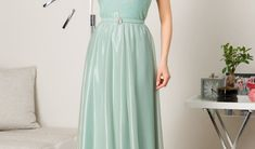 Rochie Hailey Mint Prom Dresses, Formal Dresses, Floral, Fashion, Embroidery, Dresses For Formal, Moda, Formal Gowns, Fashion Styles
