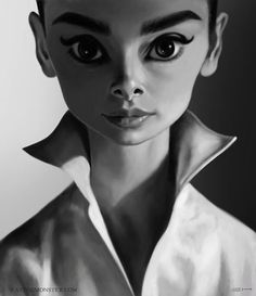 """""""Audrey Hepburn"""" by Emily Hare*  • Blog/Website 