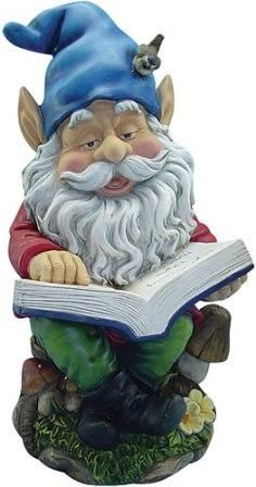 Gnome Reading Book