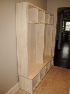 Mud Room Storage Unit