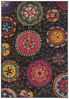 5'3'' X 7'6''   Free Pad  $279.20 Sphinx by Oriental Weavers - Sphinx By Oriental Weavers Kaleidoscope 1333n Area Rug #82421