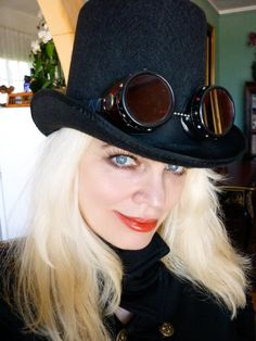 Off to a Steampunk Event. 2010
