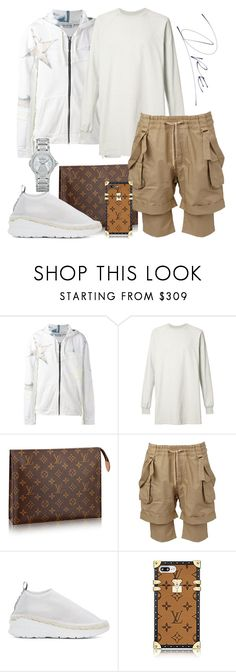 """Spring is Here 🐿🕊🐇"" by stylinwitdre ❤ liked on Polyvore featuring Faith Connexion, Rick Owens, Balmain, Kenzo and Carl F. Bucherer"