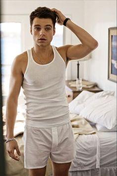 Sebastian Stan looking amazing.