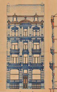 Schaerbeek - Rue Henri Bergé 84 - DE ROY Henri
