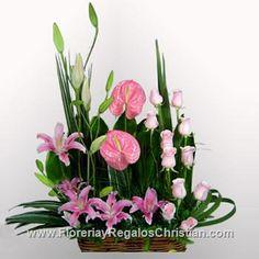 Arreglo floral rosita