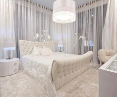 All White Master Bedroom Ideas - HOME DELIGHTFUL