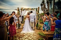 Cerimônia praiana