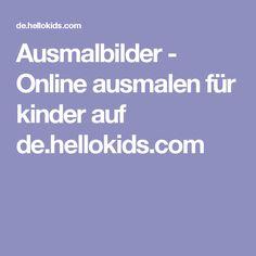 Ausmalbilder - Online ausmalen für kinder auf de.hellokids.com