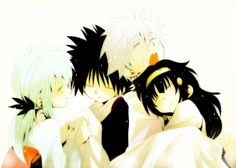 Hunter x Hunter   HXH   Yu Yu Hakusho   YYH   Killua   Alluka   Zoldyck   Hiei   Yukina   Anime