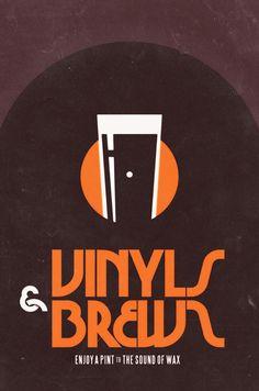 vinyls & brews. twentyone creative.